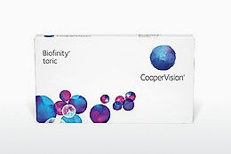Contact Lenses Cooper Vision Biofinity toric BFNTR3