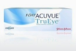 隱形眼鏡 Johnson & Johnson 1 DAY ACUVUE TruEye 1D4-90P-REV