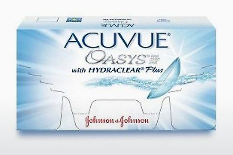 隐形眼镜 Johnson & Johnson ACUVUE OASYS with HYDRACLEAR Plus PH-6P-REV