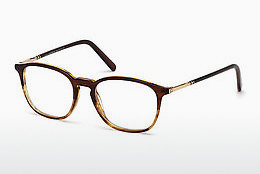 Eyewear Mont Blanc MB0539 048 - Brown, Dark, Shiny