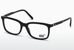 Eyewear Mont Blanc MB0638 001 - Black, Shiny