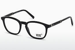 Eyewear Mont Blanc MB0639 001 - Black, Shiny