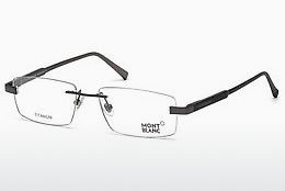 Eyewear Mont Blanc MB0661 008 - Grey, Shiny