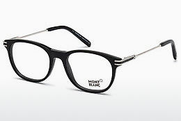 Eyewear Mont Blanc MB0724 001 - Black, Shiny