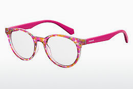 Eyewear Polaroid Kids PLD D814 2TM - Pink, Red, Brown, Havanna