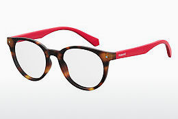 Eyewear Polaroid Kids PLD D814 O63 - Red, Brown, Havanna