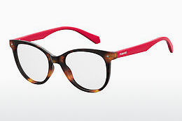 Eyewear Polaroid Kids PLD D815 O63 - Red, Brown, Havanna