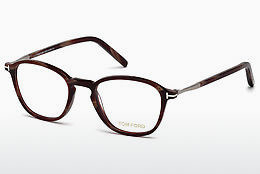 专门设计眼镜 Tom Ford FT5397 064 - 動物角質, Horn, Brown