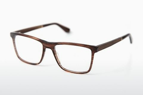 专门设计眼镜 Wood Fellas Wildenwart (11003 walnut/crystal brw)