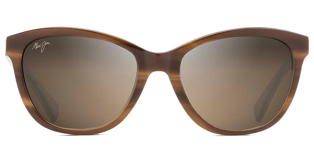 Maui Jim   Canna HS769-03T HCL BronzeTortoise with White and Blue