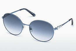 Ophthalmic Glasses Swarovski SK0180 84Z - Blue, Azure, Shiny