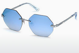 Ophthalmic Glasses Swarovski SK0193 84X - Blue, Azure, Shiny