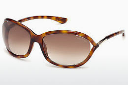 太陽眼鏡 Tom Ford Jennifer (FT0008 52F) - 啡色, Dark, Havana