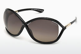 太陽眼鏡 Tom Ford Whitney (FT0009 01D) - 黑色, Shiny