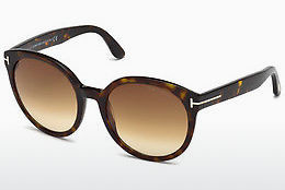 太陽眼鏡 Tom Ford Philippa (FT0503 52F) - 啡色, Dark, Havana
