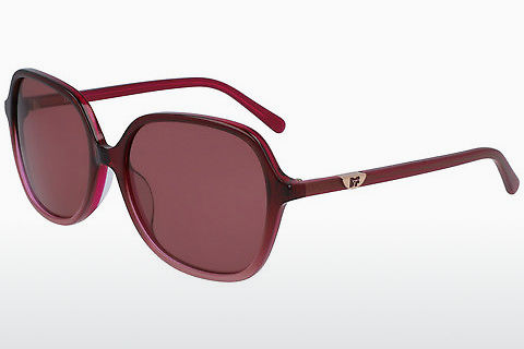 Ophthalmic Glasses Diane von Fürstenberg DVF666S HEATHER 605