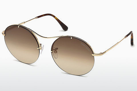 太阳镜 Tom Ford Veronique-02 (FT0565 28F)