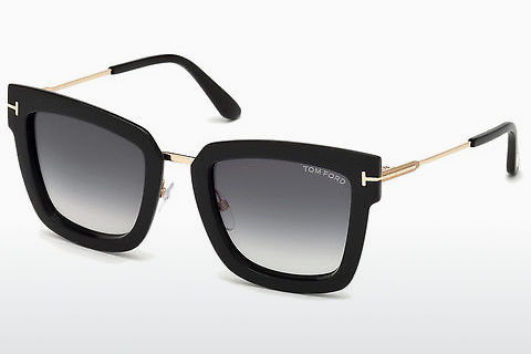 太阳镜 Tom Ford Lara-02 (FT0573 01B)