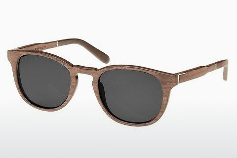 太阳镜 Wood Fellas Bogenhausen (10762 walnut/grey)
